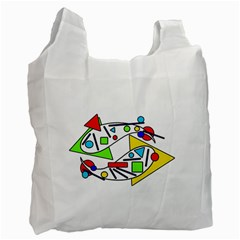 Catch me Recycle Bag (Two Side)