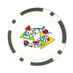Catch me Poker Chip Card Guards (10 pack)