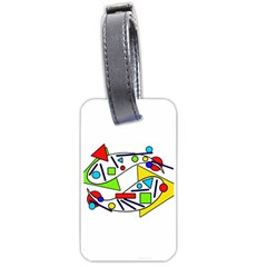 Catch me Luggage Tags (One Side)