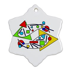 Catch me Ornament (Snowflake)
