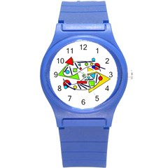 Catch me Round Plastic Sport Watch (S)