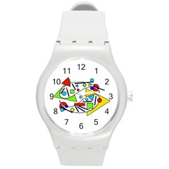Catch me Round Plastic Sport Watch (M)