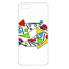 Catch me Apple iPhone 5 Seamless Case (White)