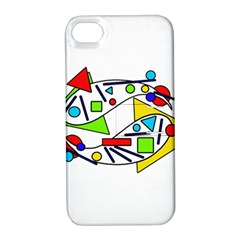 Catch me Apple iPhone 4/4S Hardshell Case with Stand
