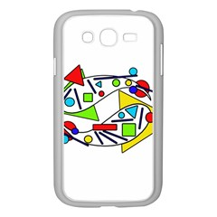 Catch me Samsung Galaxy Grand DUOS I9082 Case (White)