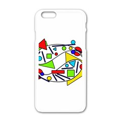 Catch me Apple iPhone 6/6S White Enamel Case
