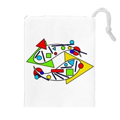 Catch me Drawstring Pouches (Extra Large)