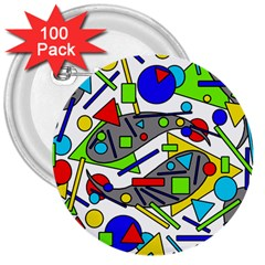 Find it 3  Buttons (100 pack)