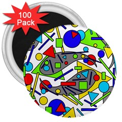 Find it 3  Magnets (100 pack)
