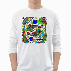 Find it White Long Sleeve T-Shirts
