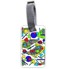 Find it Luggage Tags (Two Sides)