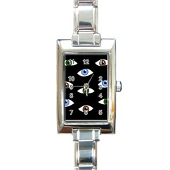 Look at me Rectangle Italian Charm Watch