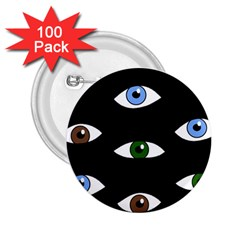 Look at me 2.25  Buttons (100 pack)