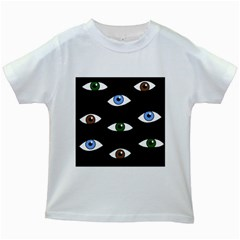 Look at me Kids White T-Shirts