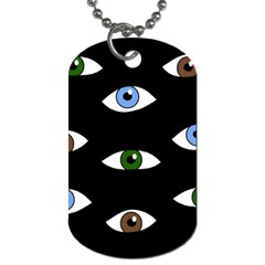 Look at me Dog Tag (One Side)