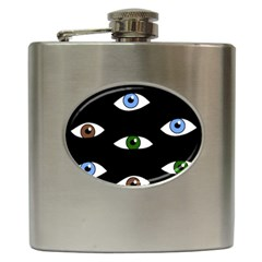 Look at me Hip Flask (6 oz)