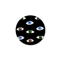 Look at me Golf Ball Marker (10 pack)