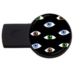 Look at me USB Flash Drive Round (2 GB)