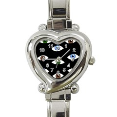 Look at me Heart Italian Charm Watch