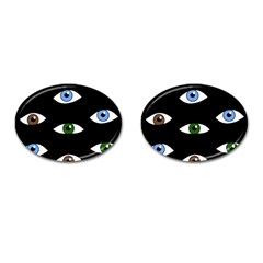 Look at me Cufflinks (Oval)