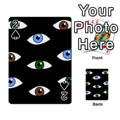 Look at me Playing Cards 54 Designs