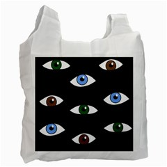 Look at me Recycle Bag (One Side)