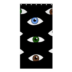 Look at me Shower Curtain 36  x 72  (Stall)