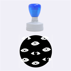 Look at me Rubber Round Stamps (Medium)