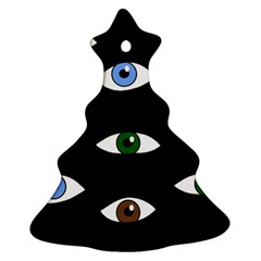 Look at me Christmas Tree Ornament (2 Sides)