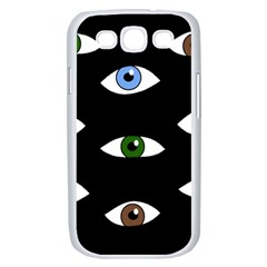 Look at me Samsung Galaxy S III Case (White)