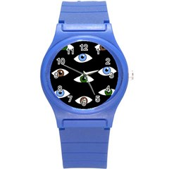 Look at me Round Plastic Sport Watch (S)