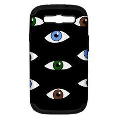 Look at me Samsung Galaxy S III Hardshell Case (PC+Silicone)