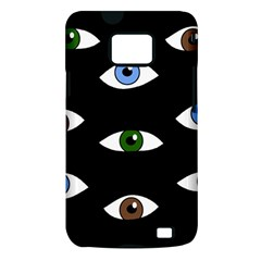 Look at me Samsung Galaxy S II i9100 Hardshell Case (PC+Silicone)