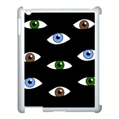 Look at me Apple iPad 3/4 Case (White)