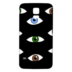 Look at me Samsung Galaxy S5 Back Case (White)
