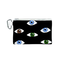 Look at me Canvas Cosmetic Bag (S)