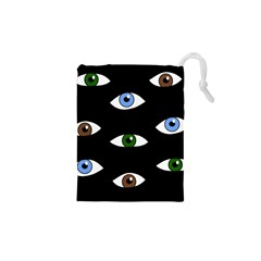 Look at me Drawstring Pouches (XS)