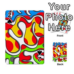Colorful graffiti Playing Cards 54 Designs