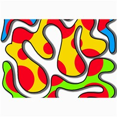 Colorful graffiti Collage Prints