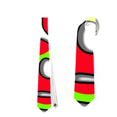 Colorful graffiti Neckties (Two Side)
