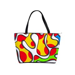 Colorful graffiti Shoulder Handbags