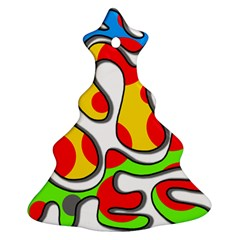 Colorful graffiti Ornament (Christmas Tree)
