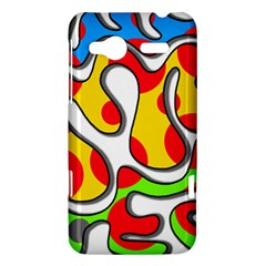 Colorful graffiti HTC Radar Hardshell Case