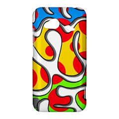 Colorful graffiti HTC Droid Incredible 4G LTE Hardshell Case