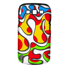 Colorful graffiti Samsung Galaxy S III Classic Hardshell Case (PC+Silicone)