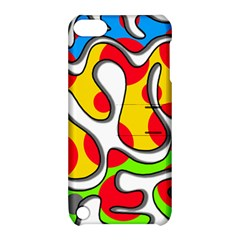 Colorful graffiti Apple iPod Touch 5 Hardshell Case with Stand
