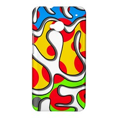 Colorful graffiti HTC One M7 Hardshell Case