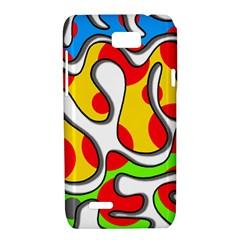 Colorful graffiti Motorola XT788