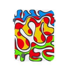 Colorful graffiti Apple iPad 2/3/4 Protective Soft Cases