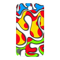 Colorful graffiti Samsung Note 2 N7100 Hardshell Back Case